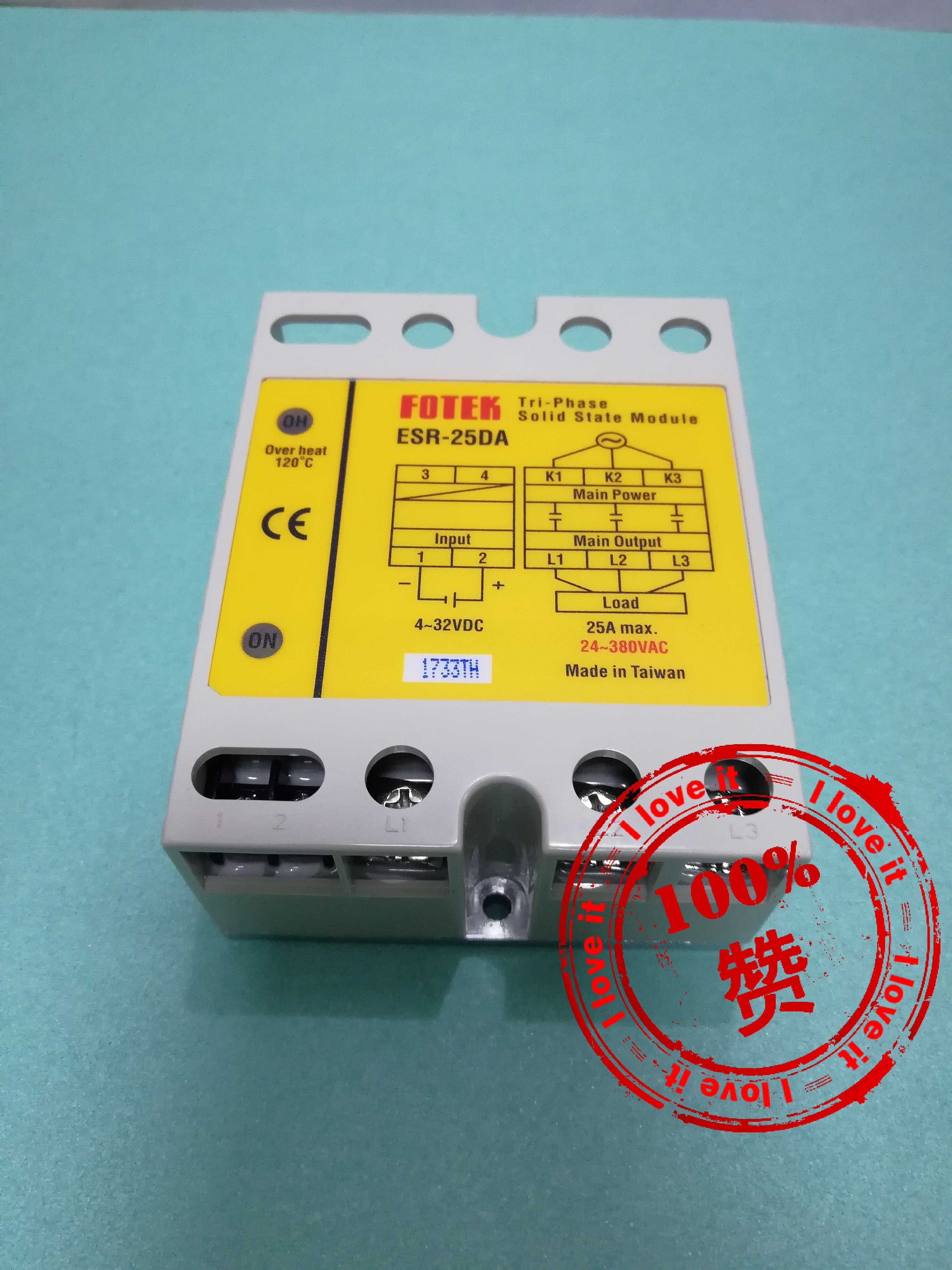New Original High Power Three-Phase Solid State Relay ESR-25DA False One Penalty Ten