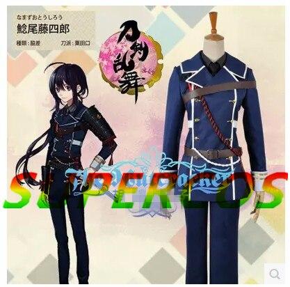 Free shipping! Touken Ranbu Online Namazuo Toushirou Uniform Cosplay Costume ,Perfect Custom For you!
