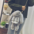 Multifunctional all-match really cute rabbit rabbit single shoulder bag Rabbit leather  High-grade Gift bag Free shipping