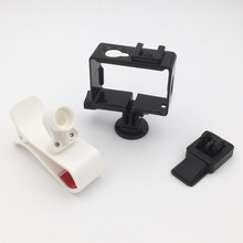 FPV Gopro / Xiaomi Yi Camera Frame Mount Holder Adapter Mobile Phone Clip Monitor Holder for Syma X8C X8W X8G X8 RC Helicopter
