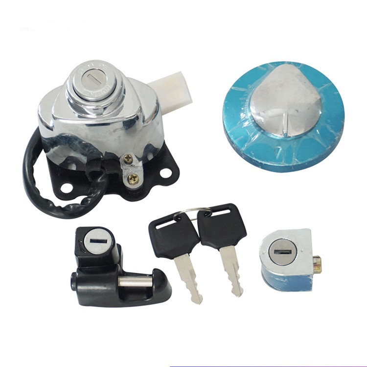 Alpha Rider Motorcycle Ignition Switch Lock and 2 Keys Set For Honda CMX250 Rebel 1985-2015 CA125 1995-1999