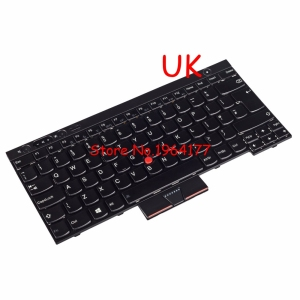 New for IBM FOR Thinkpad T430 T430l T530 T430S L430 X230 W530 UK KEYBOARD 0C01952 04X1306 Laptop /Notebook QWERTY 04X1230