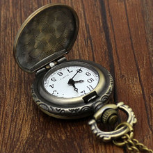 Small Dial Relogio De Bolso Vintage Navio Caravela America Constitution Ship Pocket Watch