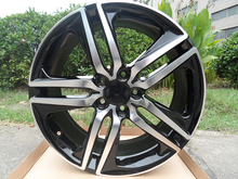 20″ Black Machine Black STYLE RIMS WHEELS  5X114.3 +45MM ET W307