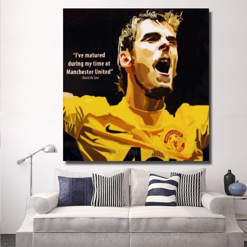 Dorable Man Utd Canvas Wall Art Image Collection - Wall Art Design ...