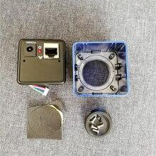 HQCAM אלומיניום כיסוי חומר מגן אבטחת CCTV אינטרנט מצלמה פגז דיור מתכת אקדח מצלמה עבור IP מצלמה מקרה