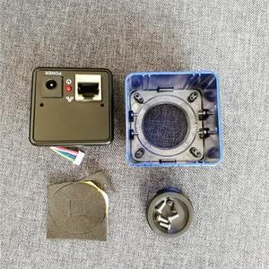 Image 1 - HQCAM אלומיניום כיסוי חומר מגן אבטחת CCTV אינטרנט מצלמה פגז דיור מתכת אקדח מצלמה עבור IP מצלמה מקרה