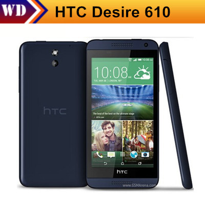 """Цена за Оригинальный htc desire 610 кач ядро мобильного телефона 4.7 """"сенсорный экран 1 ГБ ram 8 ГБ rom wifi разблокирована 3 г android мобильный телефон"""