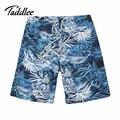 Taddlee hombres de la marca playa boxer trunks bañadores hombre del traje de baño trajes de baño pantalones cortos de secado rápido hombres bottoms activas bermudas