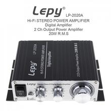 LP-2020A 20W x 2 2CH Stereo Class-D Digital Audio Amplifier Hi-Fi Stereo Power Amplifier with Over-current Protection amplifier lp 2020a 20wx2 2ch stereo class d digital audio amplifier hi fi stereo power amplifier for car motorcycle home audio