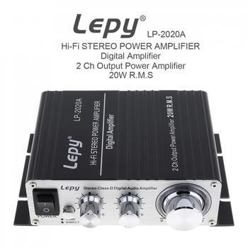 LP-2020A 20W x 2 2CH Stereo Class-D Digital Audio Amplifier Hi-Fi Stereo Power Amplifier with Over-current Protection цена 2017
