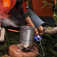 Bulin b15 s2400 outdoor gasherd und topf set compact & tragbare camping gas brenner fms-x2