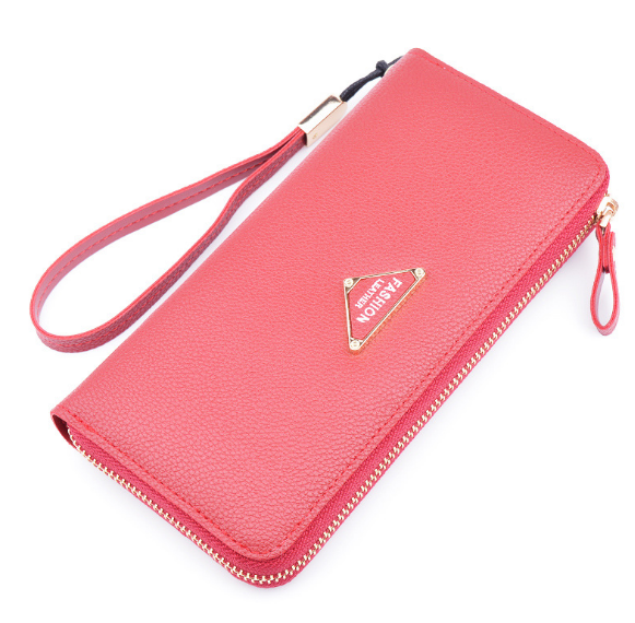 New Minimalist Classic Exquisite Female Wallet Casual Portable Girl Student Wallet Large Capacity Vintage Long Lady Purse C729