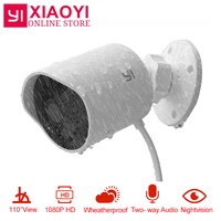 Original YI Outdoor Security Camera Cloud Cam Wireless IP 1080p Resolution Waterproof Night Vision Security Surveillance