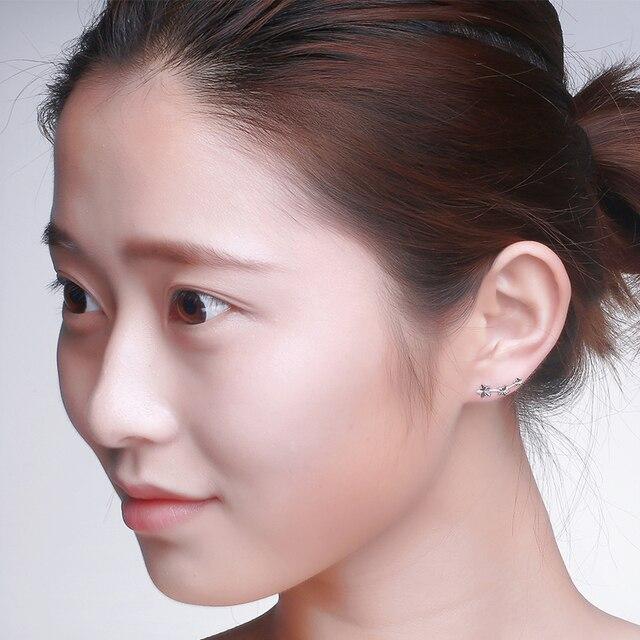18k Yellow/White/Rose Gold Stud Earrings 3