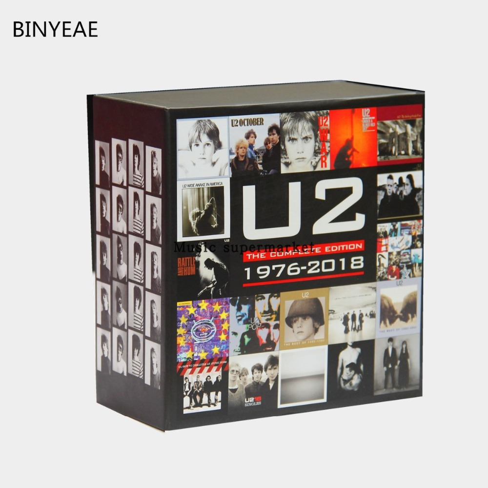 BINYEAE; new: U2 band The Complete Edition 1976-2018 Box 22CD U.S original version of the complete works; {free shipping }