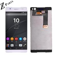 ORIGINAL For Sony Xperia c5 ultra LCD Screen Display and Touch Screen Digitizer assembly Black and White free shipping