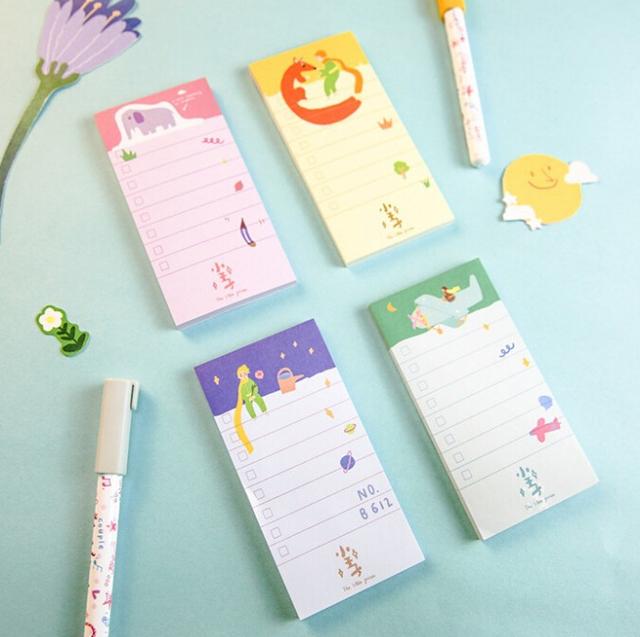 Cuentos de Hadas creativo Papelaria Escolar de Útiles Escolares Memo Pad Sticky Notes Etiqueta Post-it Bookmark