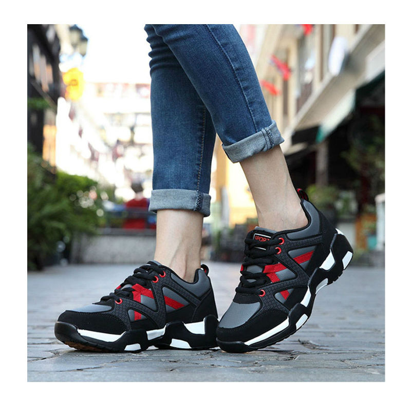 ФОТО Spring Autumn Fitness Casual With Thick Soles Dichotomanthes Slip Female First Exclusive Brand Tie Flat Fashion Buyiyang Shoes