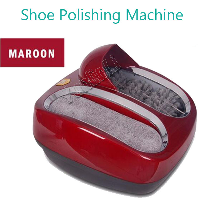 Automatic Shoe Polishing Machine Shoe Cleaning Machine Shoe Polisher for Living Room or Office Model 412412 intelligent sole shoe polisher shoe cleaning machine household automatic shoe cleaner