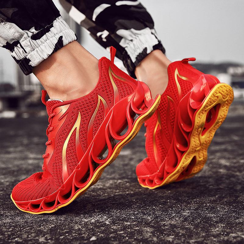 Breathable Running Shoes New Plus Size Sports Shoes Comfortable Blade Shoes Walking Jogging Casual Mens Shoes 45Breathable Running Shoes New Plus Size Sports Shoes Comfortable Blade Shoes Walking Jogging Casual Mens Shoes 45