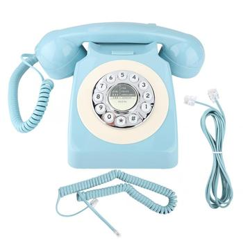 MYS-300ARetro Style Landline Office Telephone Home Decoration Anti-Electromagnetic Interference telephone portable telef
