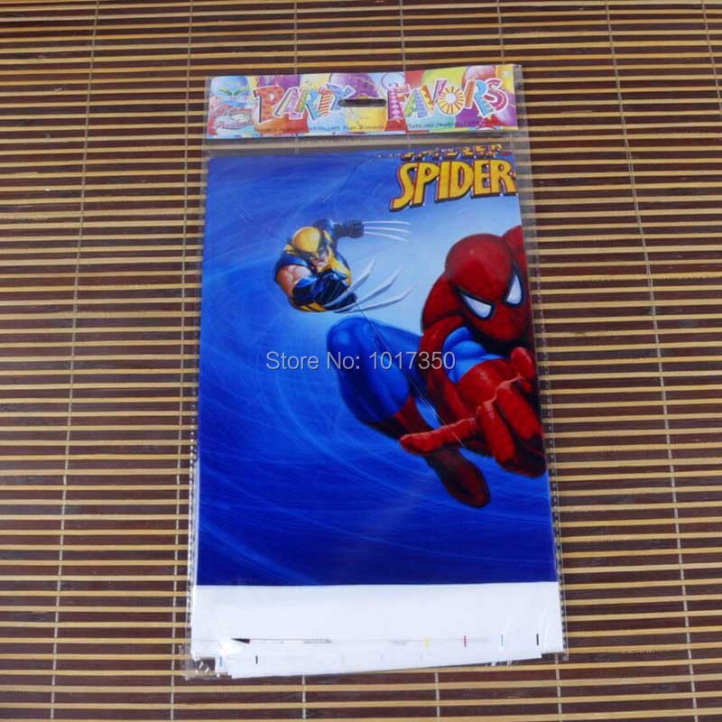 Cool Plastic Table Cloth Cartoon Spiderman Table Cover Waterproof  Tablecloth Kids Girl Birthday Party Wedding Home