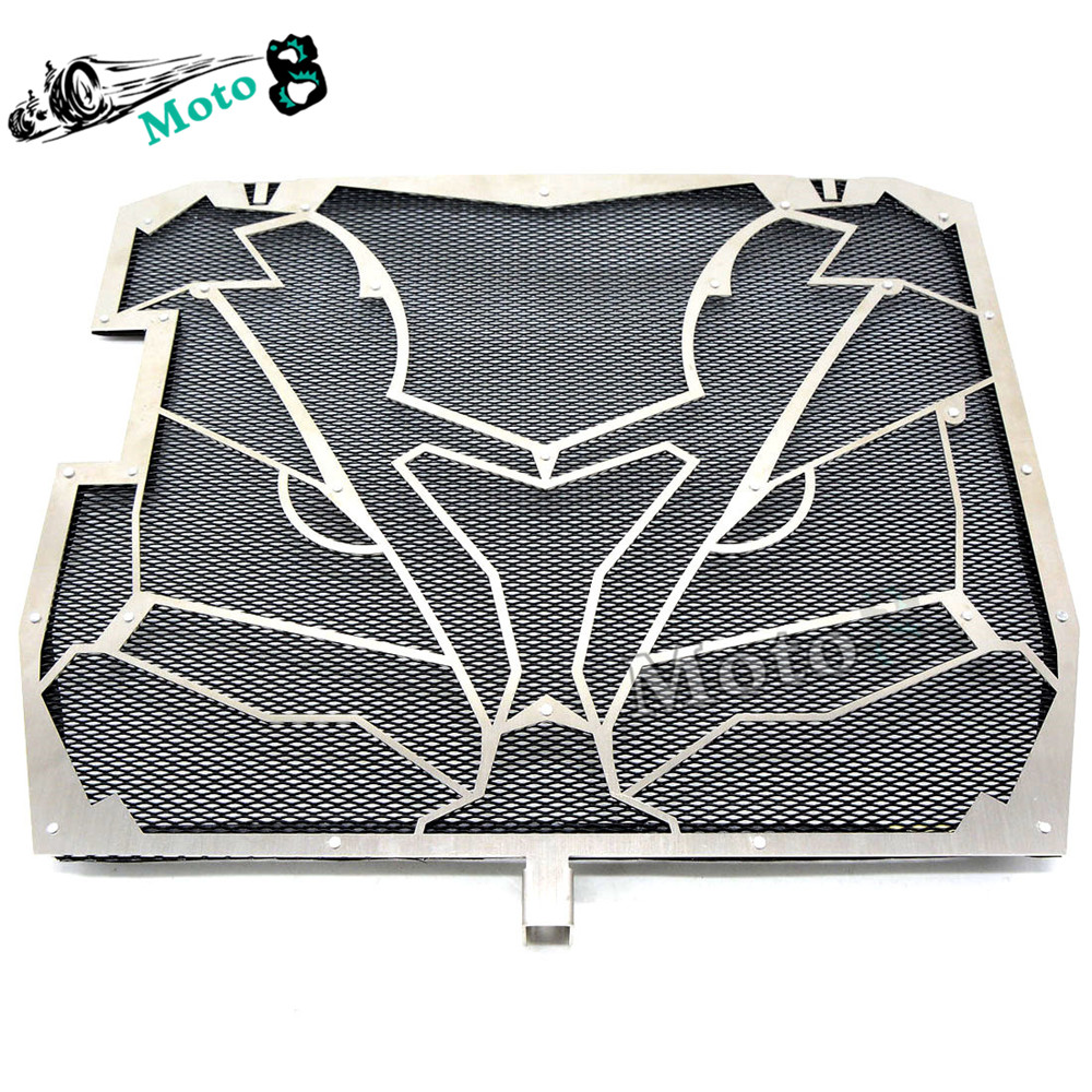 ФОТО high quality Motorcycle Radiator Grille Guard Screen Cover Protector black protective cover For KAWASAKI ZX-10R 11 12 13 14