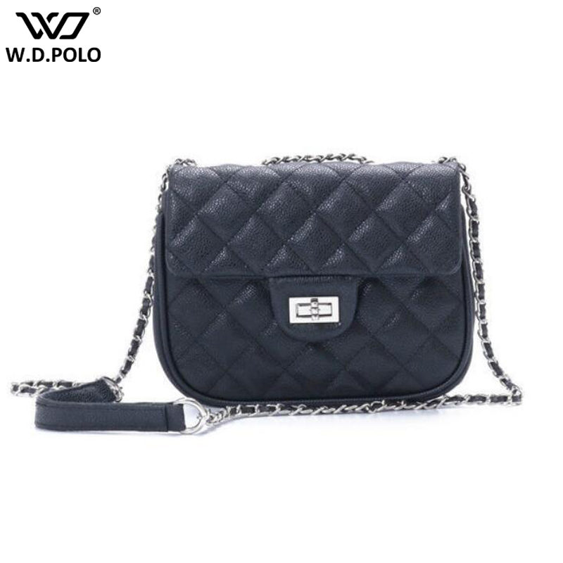 New Women Split Leather Shoulder Bags Fashion Brand Design Hasp Chain Lady Crossbody Bags Small Size Women Bags Q0120