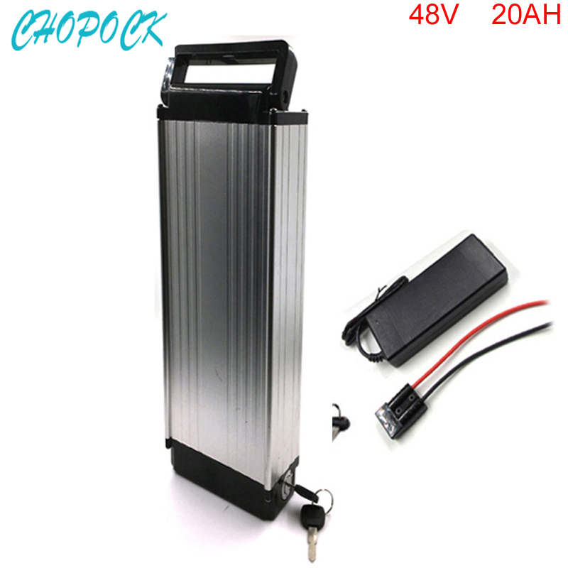 48V 1000W Electric Bicycle lithium battery 48V 20A ebike lithium Battery pack fit 48v bafang 8fun motor with 30A BMS and charger 48v 3000w electric bike battery 48v 40ah samsung electric bicycle lithium ion battery with bms charger 48v battery pack 48v 8fun