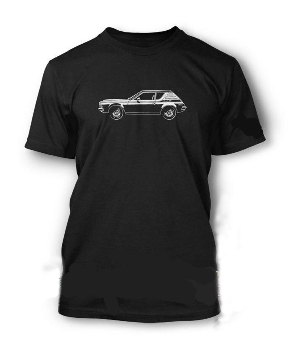 American Car AMC Gremlin X 1972 T-Shirt for Men Multiple Colors and Sizes
