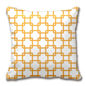 Pillow-Case Cushion-Cover Decorative Car-Sofa-Seat Square Orange Customize Gift Link