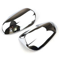 Chrome Side Door Mirror Cover Trim Molding Overlay For Toyota C HR CHR 2017 2019