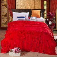 High Density Thicken Soft Flannel Blanket 4 Size Sofa Bed Sheet 18 Designs Plaid Double