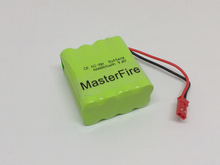 MasterFire New Original Ni-MH AAA 9.6V 800mAh Ni-MH Battery Rechargeable Batteries Pack With JST Plugs original ni pci can