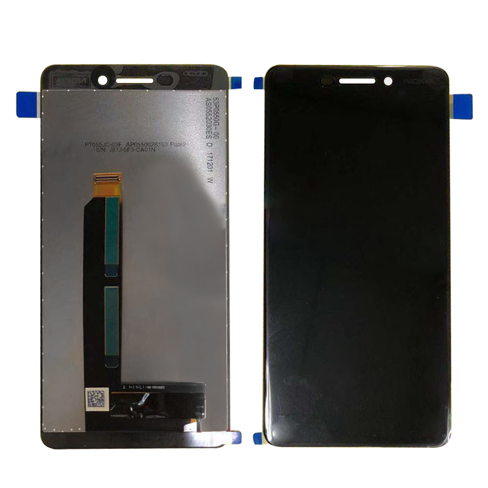 For Nokia 6 2018 Nokia 6.1 TA-1043 TA-1045 TA-1050 TA-1054 TA-1068 LCD Display Touch Screen Glass Panel Digitizer Assembly