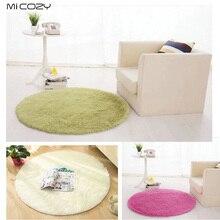 Anti-slip 80cm 100cm 120cm 160cm Oversize Thick Floor Mat Round Area Rug Circle Indoor Carpets For Living Room Bathroom