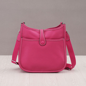 Image 2 - 정품 가죽 여성 양동이 메신저 가방 암소 진짜 가죽 어깨 가방 숙녀 핸드백 bolsa feminina 작은 지갑 패션