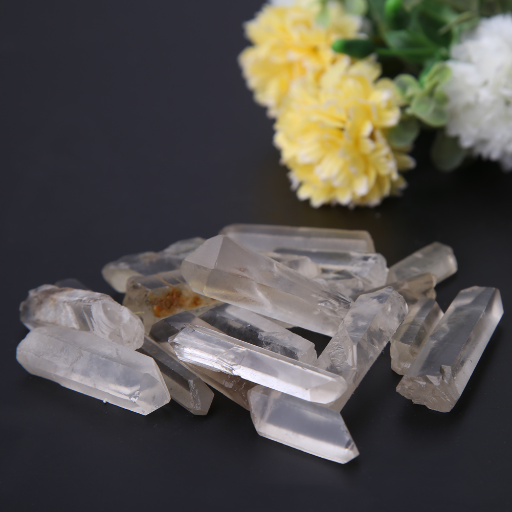 Is quartz considered a natural stone - 100g Natural Crystal Stones Minerals Quartz Diy Pendant Home Decoration Lucky Natural Stone For Health
