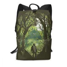 Legend Of Zelda Backpack The Royal Crest Backpacks Trend Student Bag Man - Woman Print High quality Bags