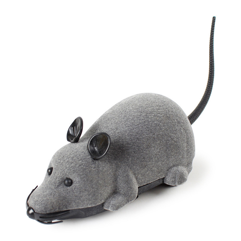Rc Car 2wd Mouse 23cm Mini Remote Control Car Toys For Children Boy Mouse Cat Model Rc Toy Brushless Car Gray Black Robot Radio