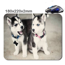 HOT SALES Cute Baby Husky Used For Home And Office Computer And Laptop Gaming Rubber Mouse Pad 180X220X2cm