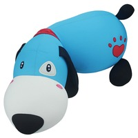 65cm Good Quality Cute Cartoon Soft Dog Particles Large Sleeping Pillow Soft Dolls Big Dog Girlfriend