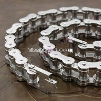 FREE SHIPPING 200g Heavy Huge 0verstate Heavy Stainless Steel Silver Motorcycle Bike Chain Necklace Punk Jewelry 24*20mm