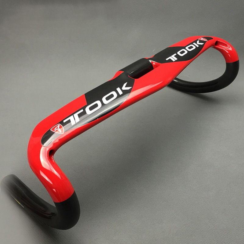 TOOK UD glossy T800 Carbon Road Bike Bicycle Racing Drop Bar Handlebar bent bar 31 8