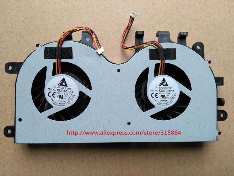 New laptop cpu cooling fan for LENOVO AIO IDEACENTRE B520 TYPE 7745 B520E KUC1012D DC12V 0.75A цена