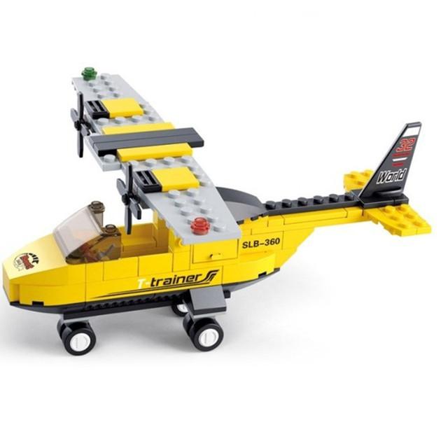 110pcs/set Airplane Building Blocks Kits