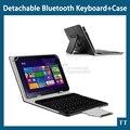 Универсальный Случай Клавиатуры Bluetooth для Samsung Galaxy Tab S2 9.7 T810 T815 9.7 дюймов Tablet PC, T810 T815 Чехол + 2 бесплатных подарков