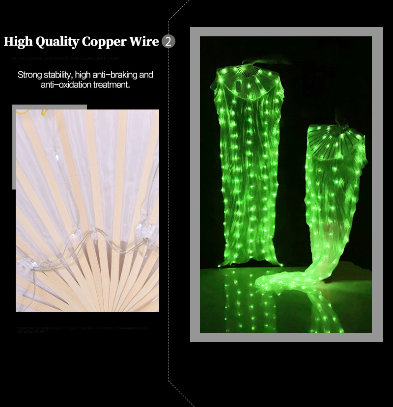 Colorful LED discount Fans 10