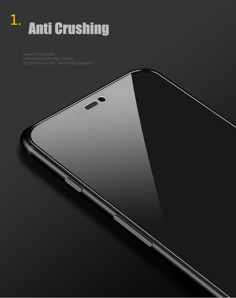 Image 2 - 2 шт./лот, полностью закаленное стекло для Oneplus 6 6T 7, Защитное стекло для экрана 2.5D, закаленное стекло для one plus 7 6 6 t, анти синее стекло-in Защитные стёкла и плёнки from Мобильные телефоны и телекоммуникации